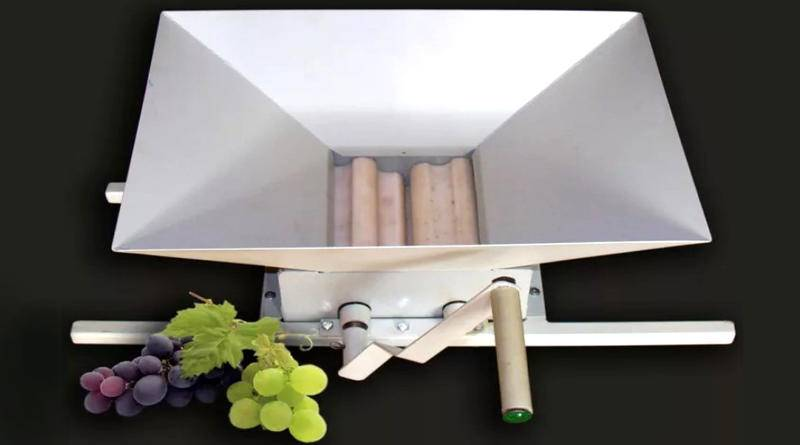 Дробилка (давилка) для винограда своими руками
