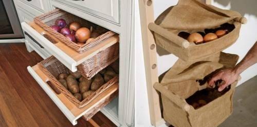 Как хранить картофель в квартире зимой - 5 правил домашнего хранения