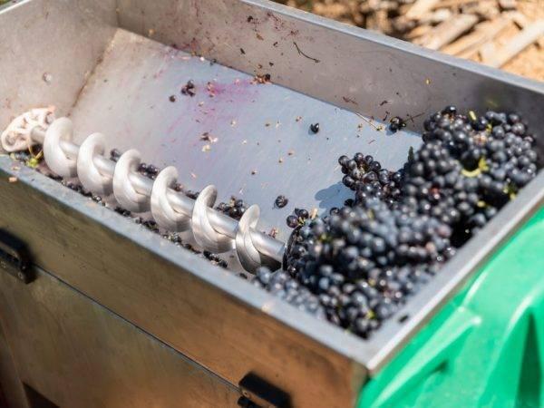 Виды и изготовление дробилок для винограда своими руками