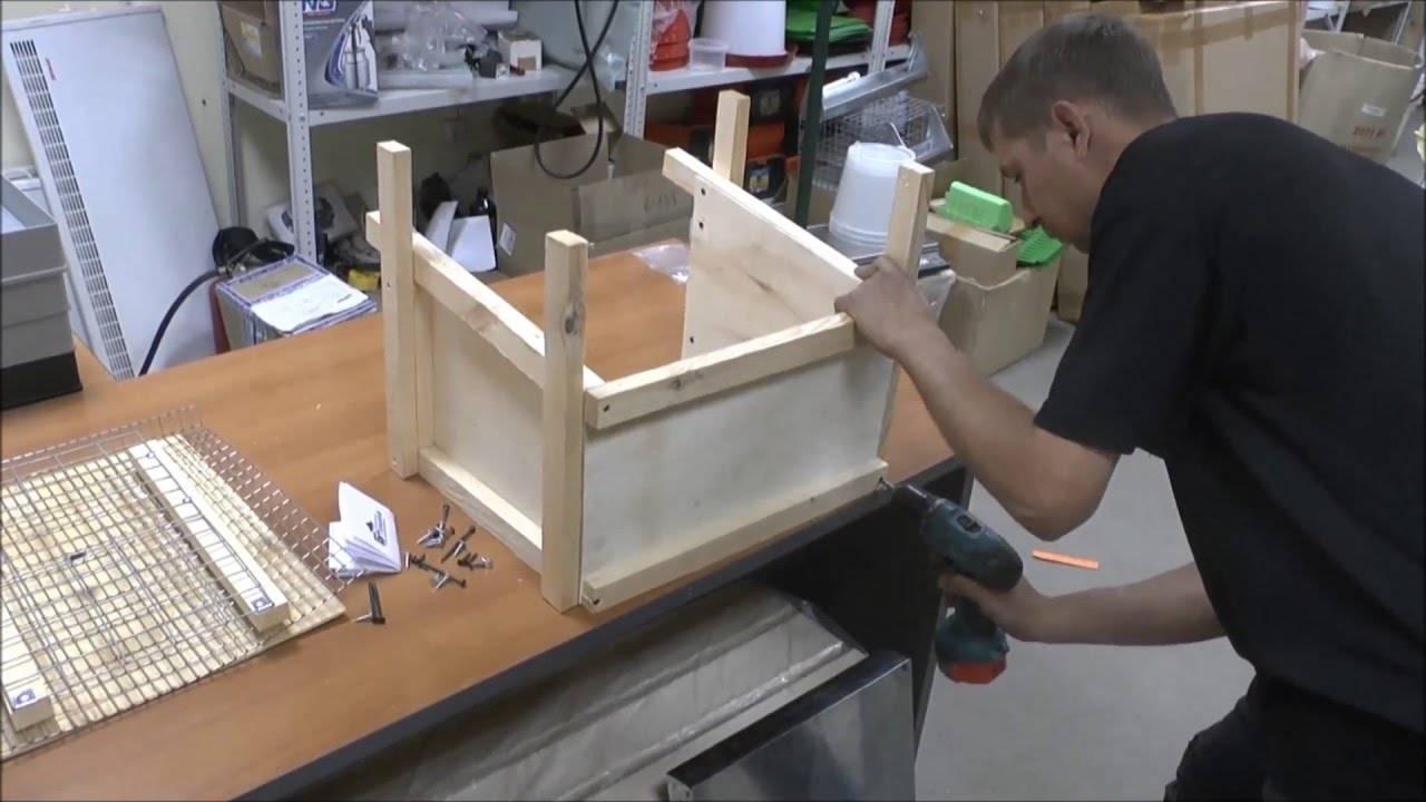 Изготовление клетки для перепелов в домашних условиях: подробная пошаговая инструкция