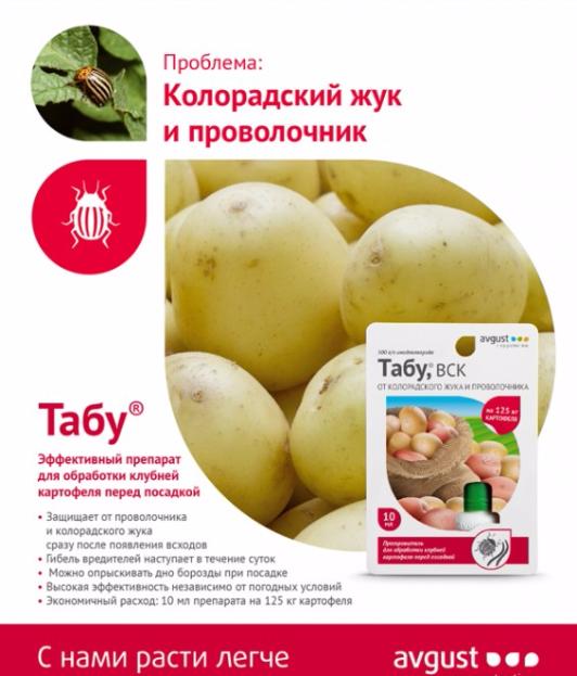 Как обработать картофель от жуков