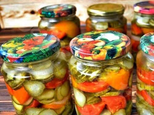 Как приготовить донской салат на зиму