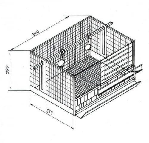 Как сделать клетку для бройлеров своими руками