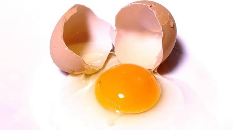 Каков вес куриного яйца в граммах