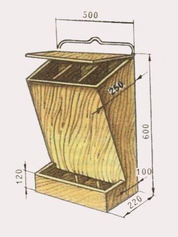 Кормушка для перепелов: разновидности, как сделать своими руками, чертежи с размерами, фото, видео