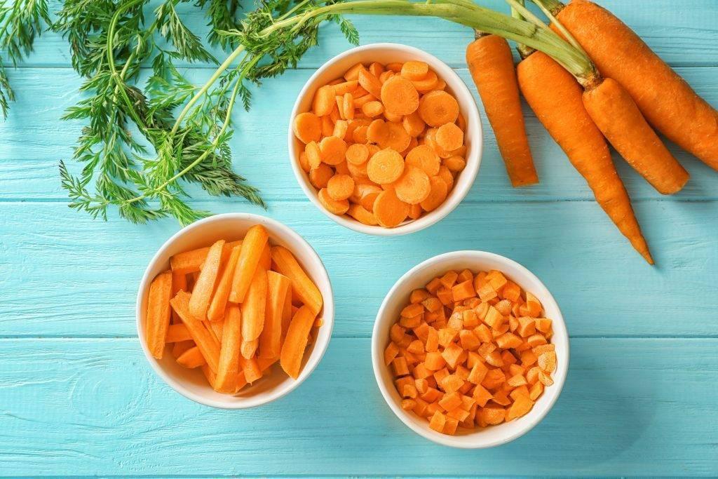 Употребление моркови в первый месяц грудного вскармливания