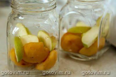 Компот из абрикосов на зиму -пошаговый рецепт с фото