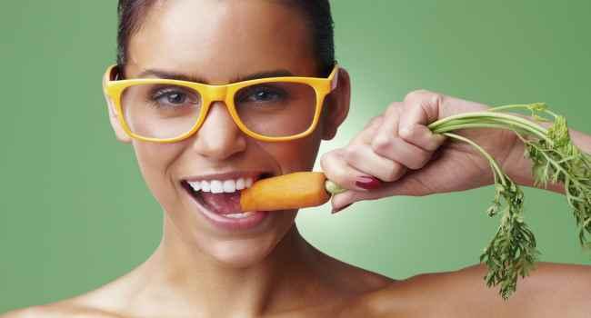 Как морковь влияет на остроту зрения