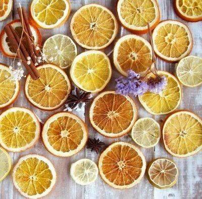 Как быстро высушить апельсины для декора