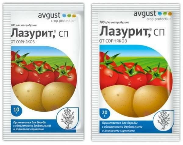 «лазурит»: как правильно применять препарат от сорняков