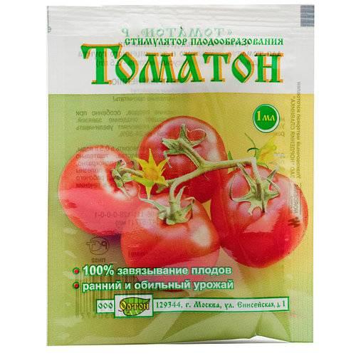 Стимулятор плодообразования томатон - назначение и способ применения
