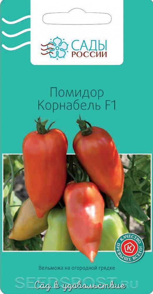 Томат корнабель f1 - описание и выращивание