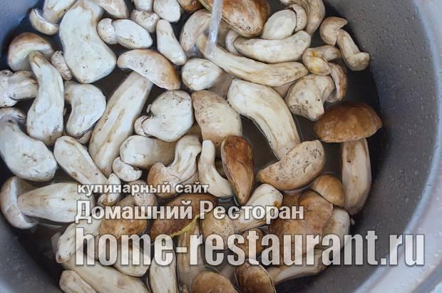 Как заморозить белые грибы на зиму, что приготовить из замороженных боровиков
