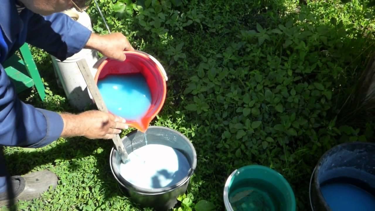 Бордосская жидкость: инструкция по применению, как использовать, как приготовить