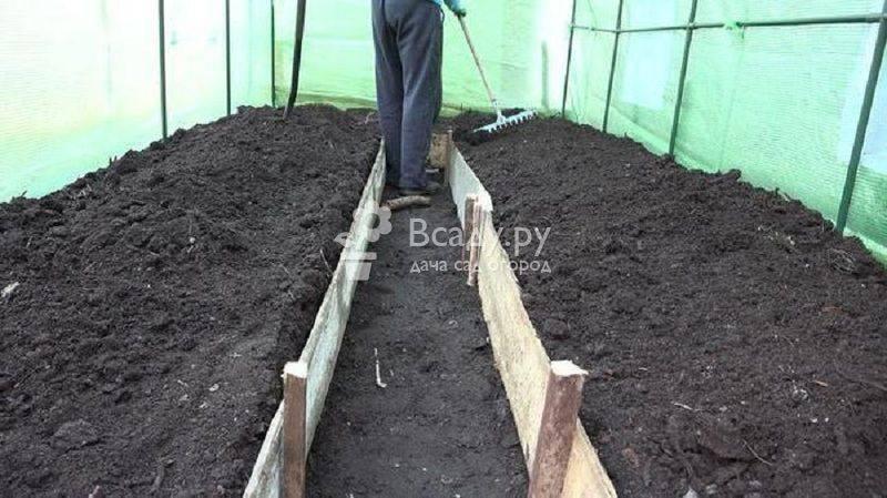 Почва: подготовка участка к весенним посадкам. как правильно сделать грядки? фото — ботаничка.ru