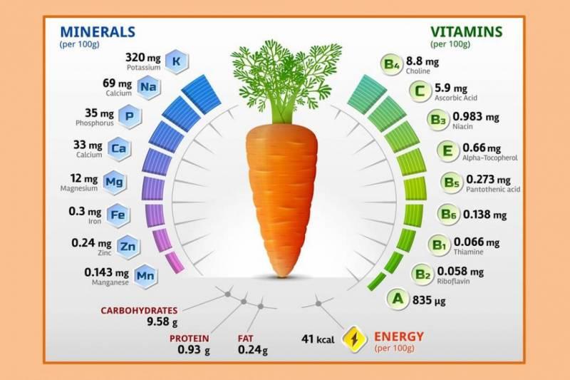 Морковь для улучшения остроты зрения - миф или правда?