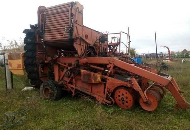 Картофелеуборочные машины - копатели и комбайны.