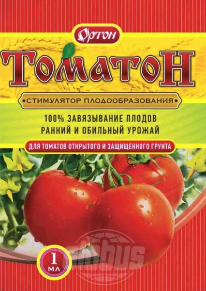 Стимулятор плодообразования томатон - сельская жизнь