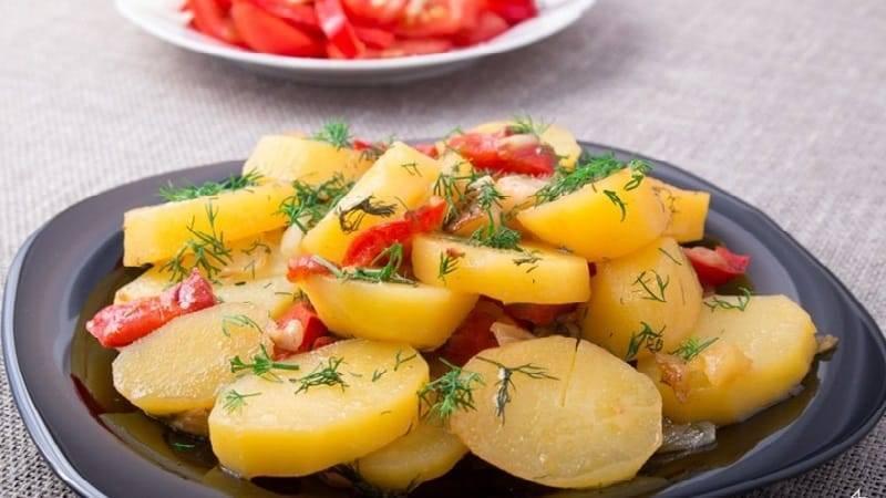 Вред и польза картофеля (сырого, печеного, вареного, жареного)