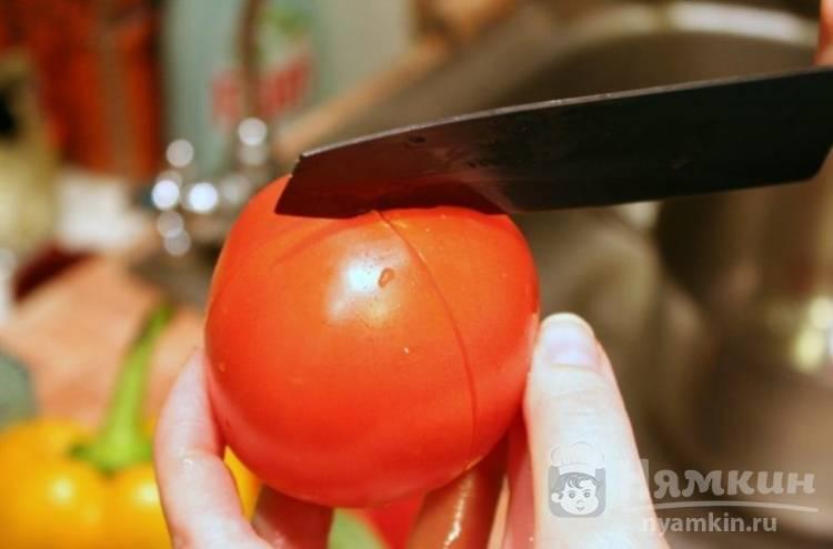 Как снять кожуру с помидора в микроволновке. способы снятия кожи с помидора