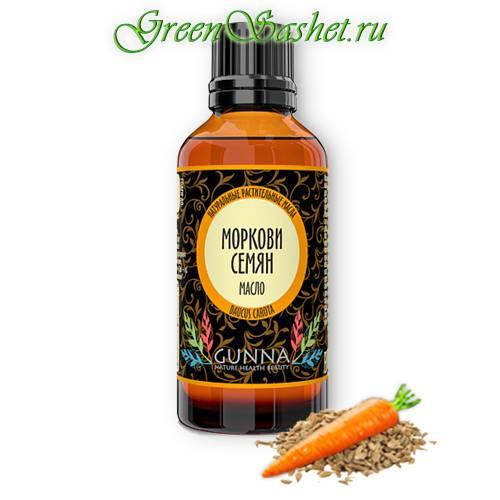 Масло семян моркови: свойства и применение, рецепты масок для лица, волос, противопоказания, отзывы