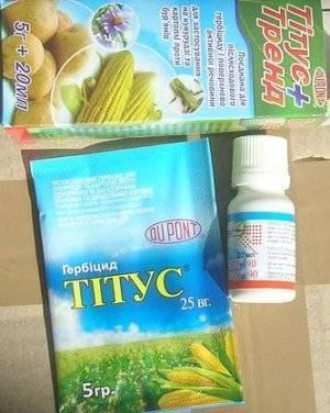 Инструкция по применению гербицида титус и норма расхода
