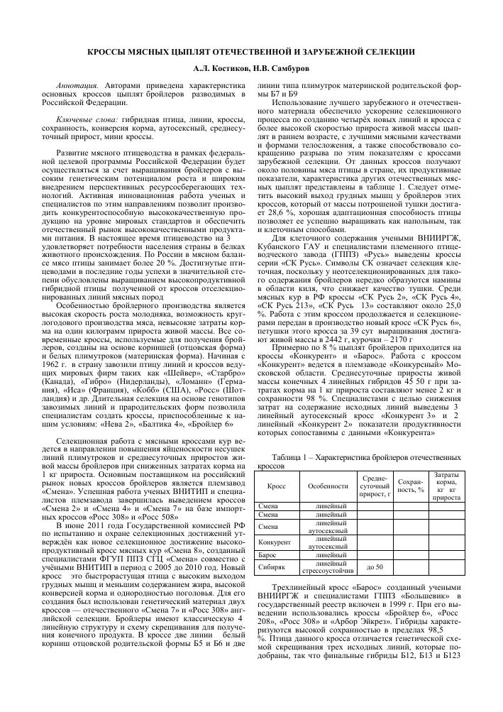 Чешские бройлеры Кобб 500