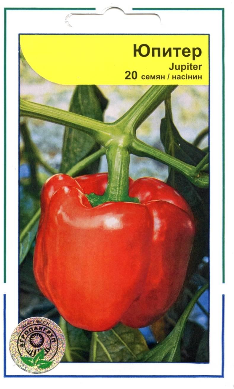 Перец юпитер характеристики и описание сорта урожайность отзывы фото - все полезное фермеру