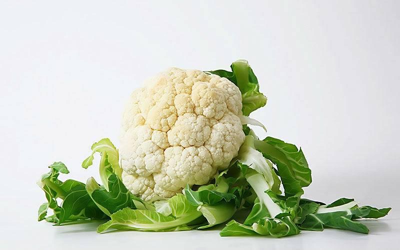 Цветная капуста замороженная — калорийность (сколько калорий в 100 граммах)