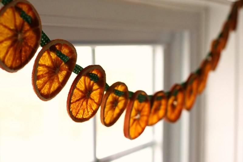 Как засушить апельсин для декора дома своими