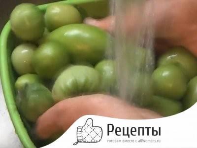 Икра из зелёных помидор на зиму