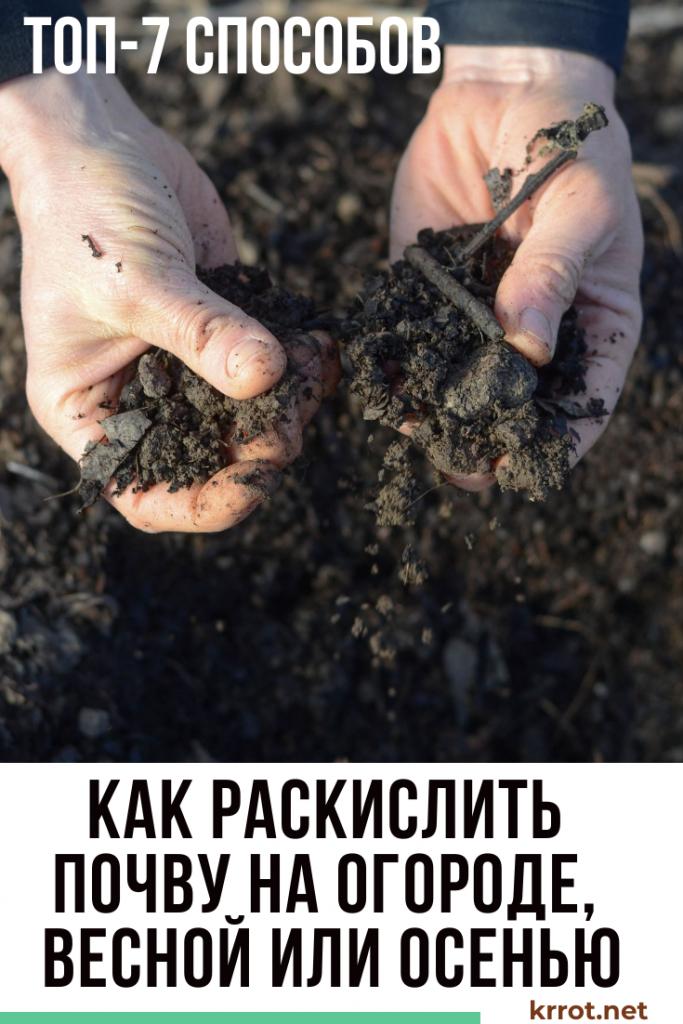 Кислотность почвы для растений