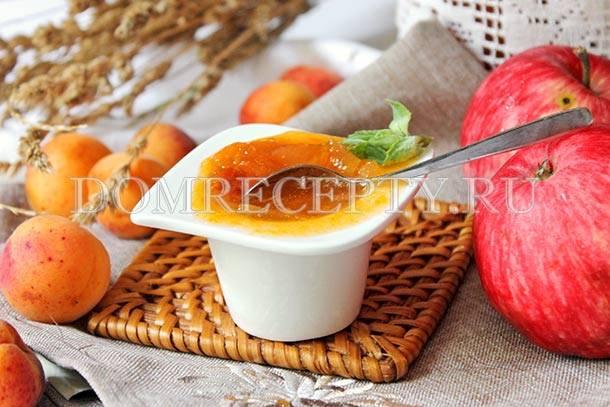 Компот из абрикосов и яблок на зиму рецепт с фото фоторецепт.ru