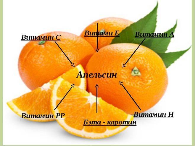 Какие витамины в апельсине и в чем его польза