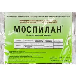 Препарат моспилан для борьбы с вредителями сельскохозяйственных культур: инструкция по применению