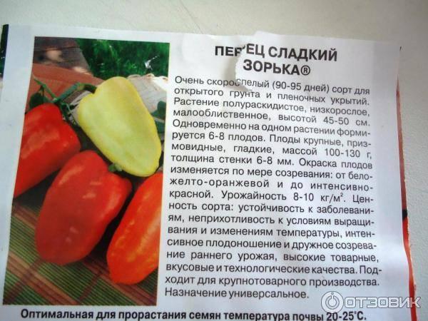 Каталог перца по алфавиту с фото и описанием