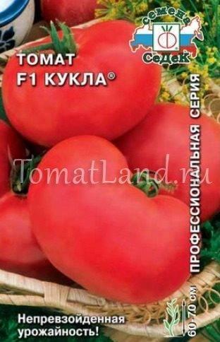 Томат кукла f1 - описание сорта гибрида, характеристика, урожайность, отзывы, фото