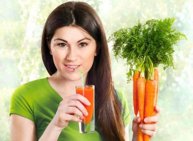 Можно ли сырую, вареную морковь, морковный сок кормящей маме