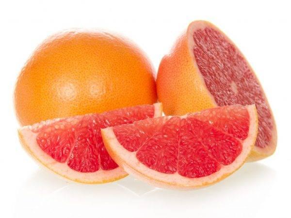 Витамины в грейпфруте