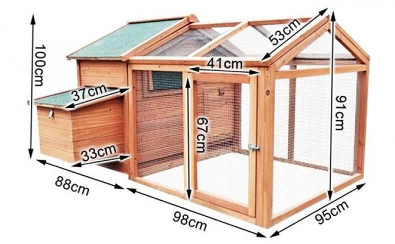 Самый простой курятник на даче своими руками (46 фото): как построить красивый птичник на дачном участке, пошаговое описание