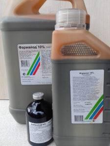 Фармайод для растений - инструкция по применению препарата