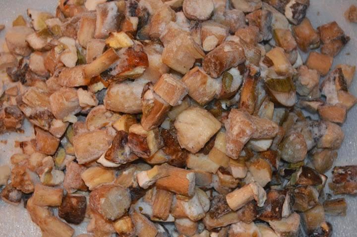 Как заморозить белые грибы на зиму - рецепт с фото пошагово