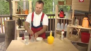 Соль и уксус от сорняков
