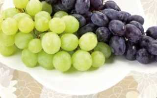 Сколько калорий в черном винограде