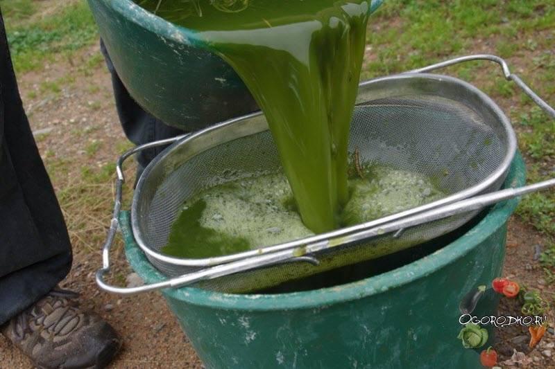 Зелёное удобрение из травы