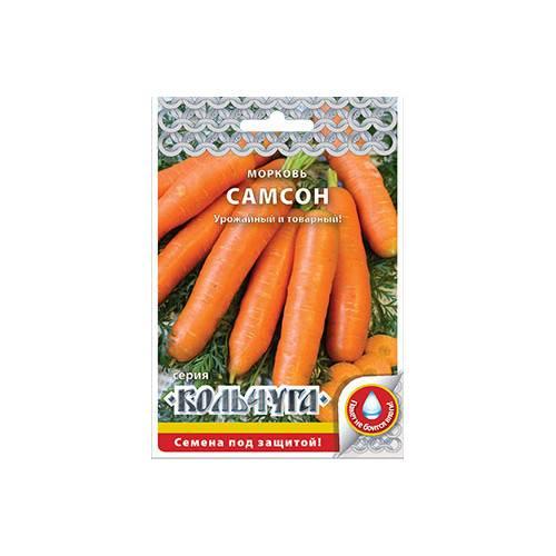 Морковь «самсон» — описание сорта, фото, отзывы, основные правила выращивания и ухода