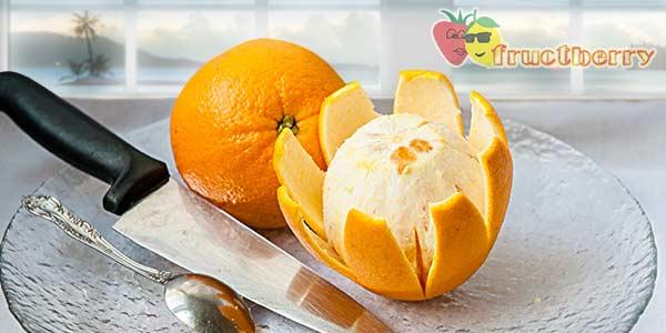 Как очистить апельсин от кожуры быстро: видео инструкция