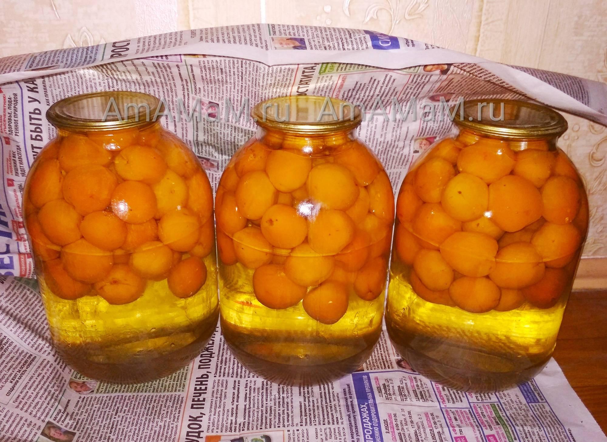 Как правильно варить компот из свежих и замороженный абрикосов?