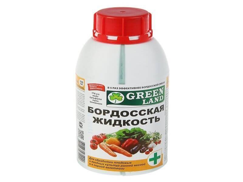 Обработка бордоской жидкостью - приготовление 3% раствора, 1% раствора