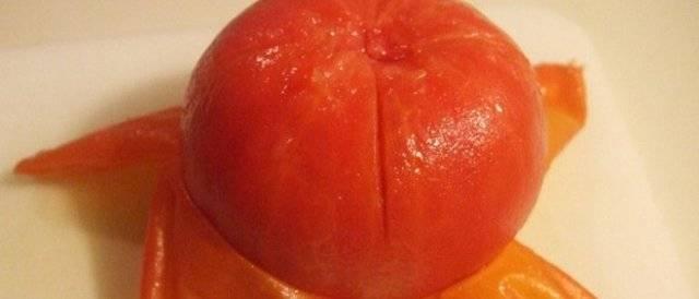 5 классных способов, как быстро снять кожуру с помидора